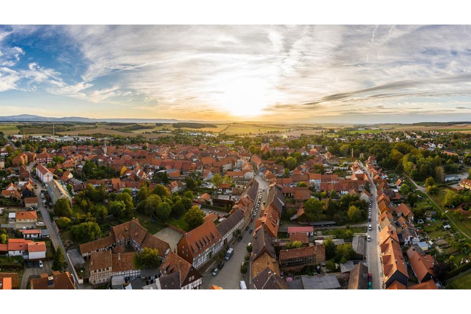 Luftbild Drohnenbild Luftaufnahmen Harz Osterwieck