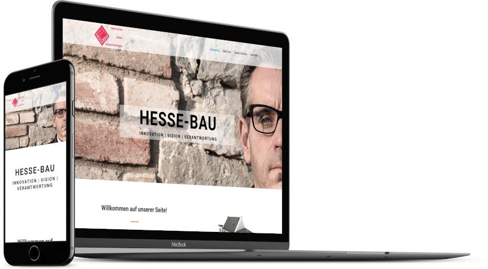Webdesign Harz Firmenwebsite Bauunternehmen