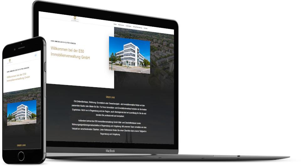 Webdesign Harz Firmenwebsite Immobilien Hausverwaltung