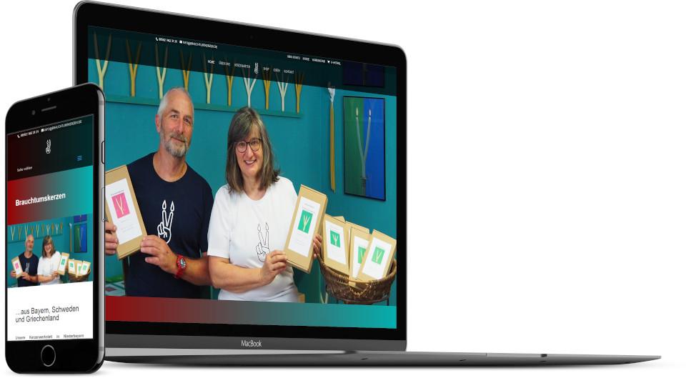 Webdesign Harz Onlineshop Kunsthandwerk