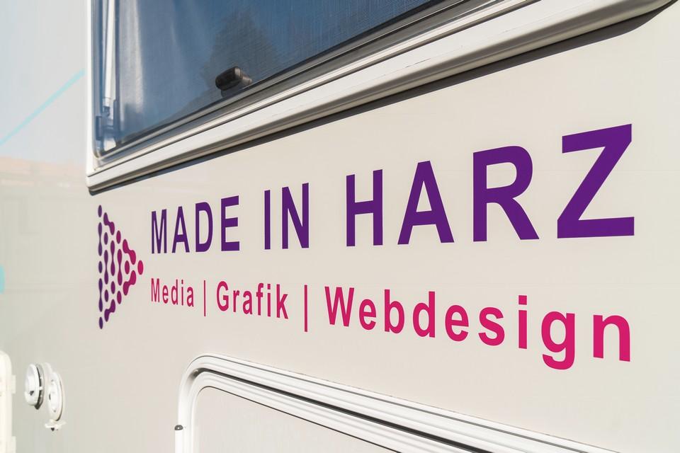 Druck, Drucksachen, Autofolierung & Autowerbung Harz