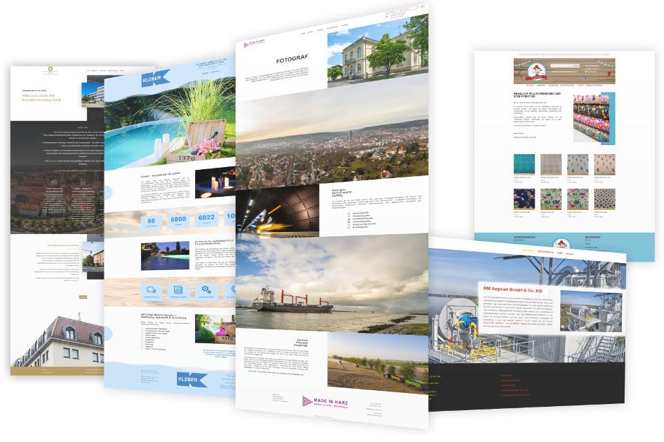 Webdesign Harz, Webdesigner für Homepage in Veltheim (Ohe) gestalten lassen