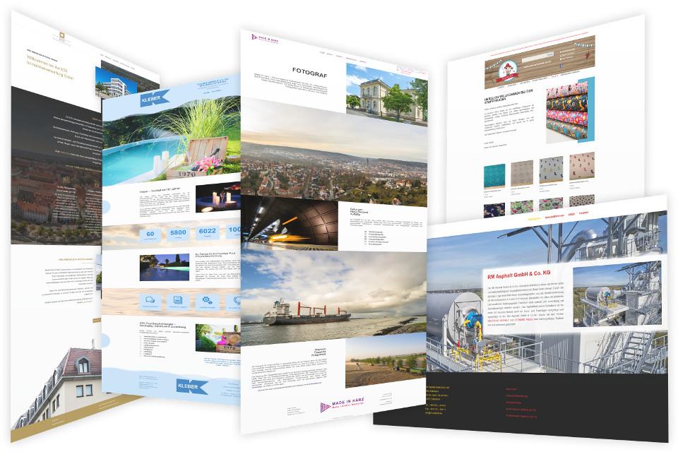 Webdesign Harz, Webdesigner für Website in Denkte gestalten lassen