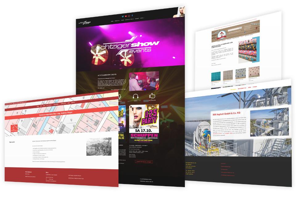 Webdesign Harz, Webseite und Webshop in Eilsdorf erstellen lassen