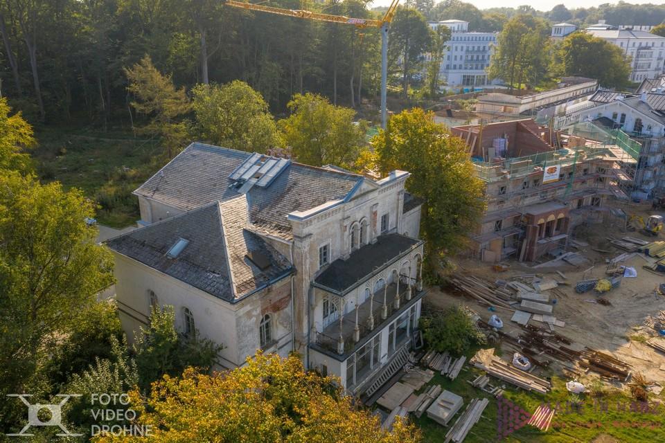 Altbausanierung Heiligendamm Drohne Bilder Harz