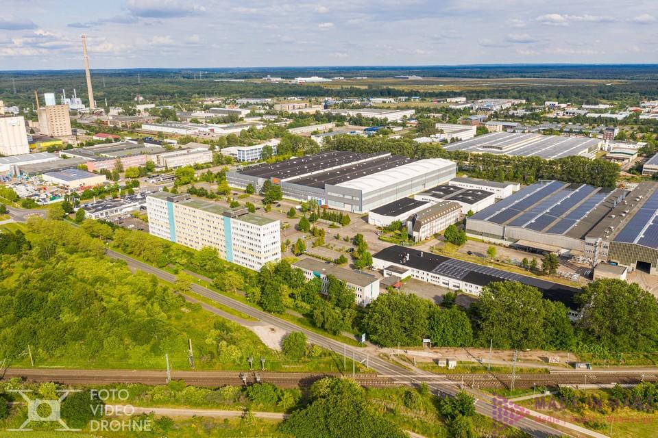 Luftaufnahmen Gewerbepark Schwerin