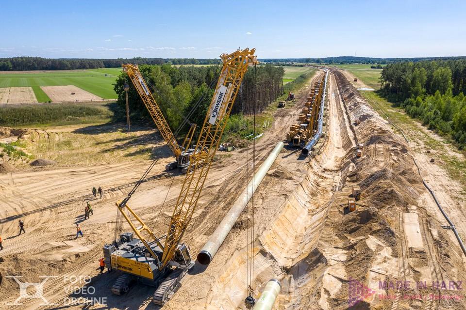 Luftaufnahmen Eugal Pipeline