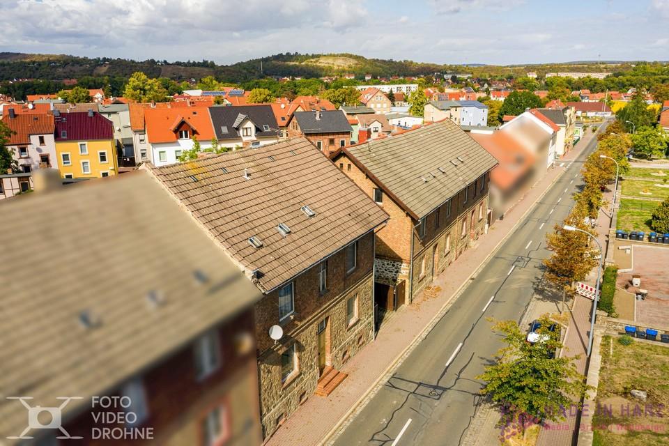 Luftaufnahmen für Immobilien Verkauf in Thale