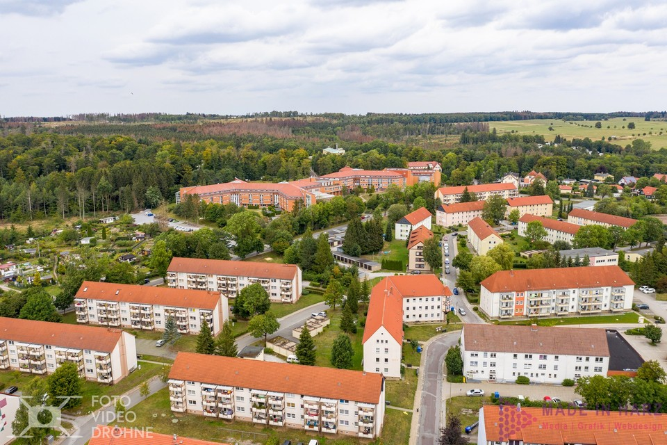 Luftbilder Drohne Wohnungsbaugenossenschaft Elbingerode