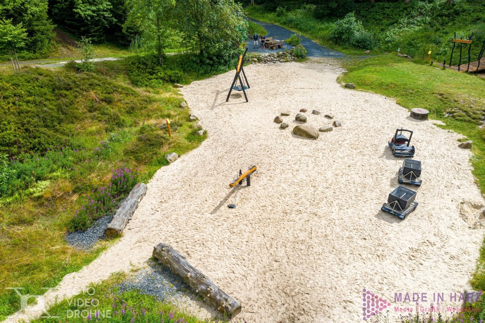 Videografie Harz Clausthal-Zellerfeld Robinsonspielplatz