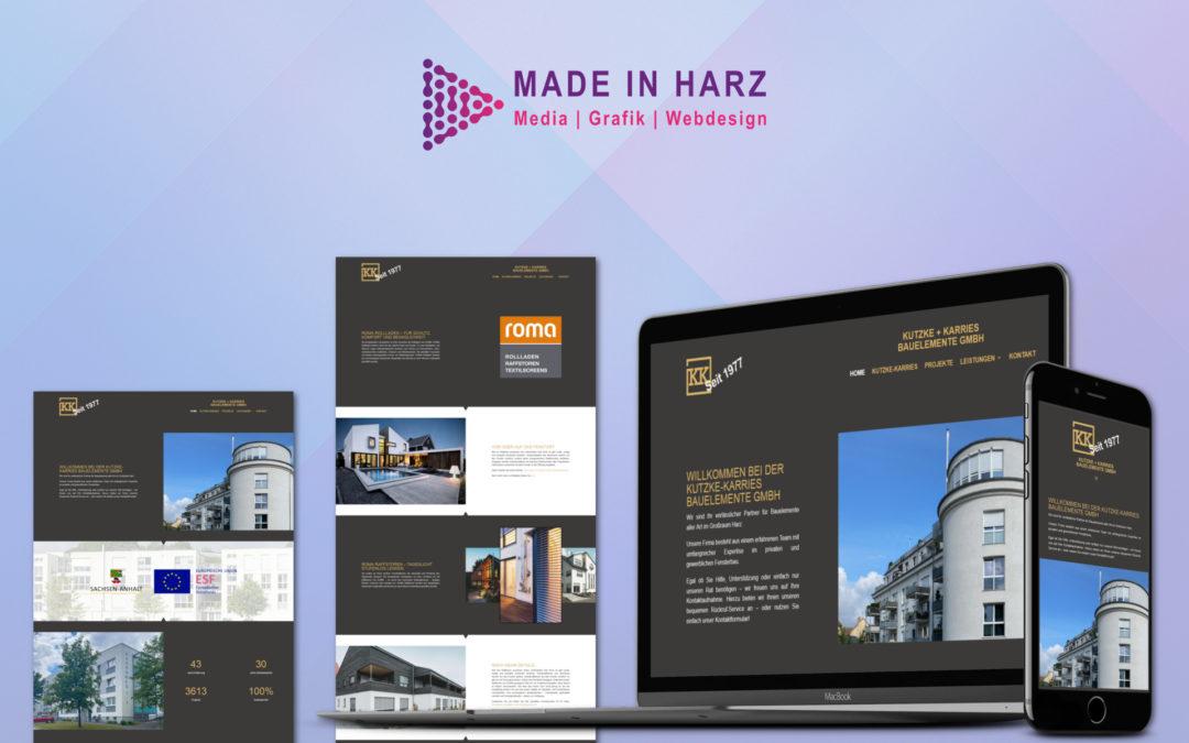 Neue Website für Kutzke & Karries