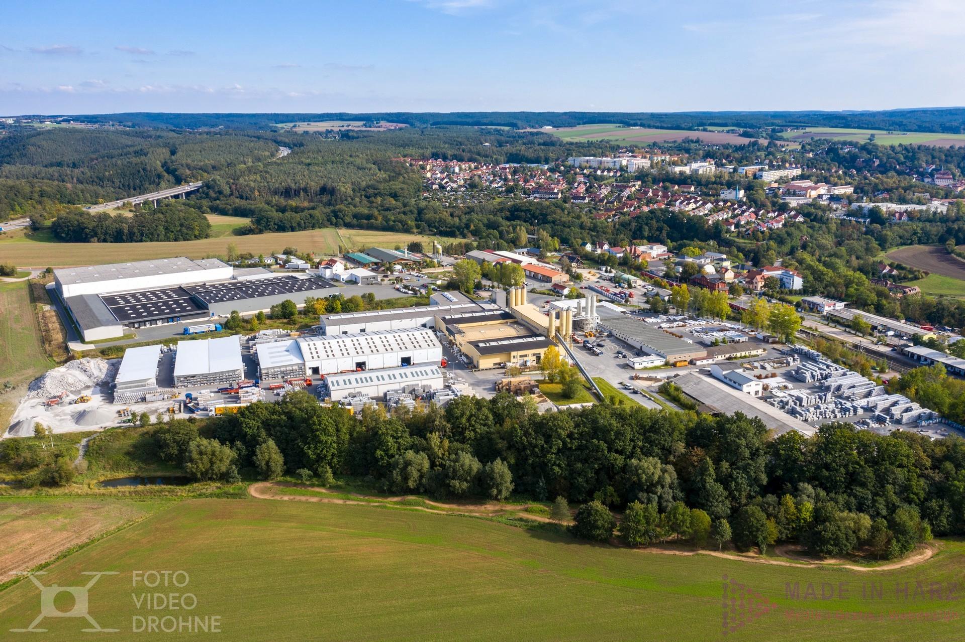 Luftaufnahmen Drohne Thüringen