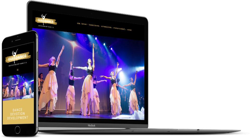 Webdesign Harz Tanzschule Website