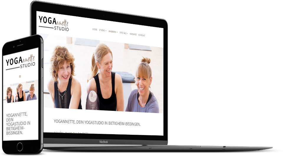 Webdesign Harz Yogastudio