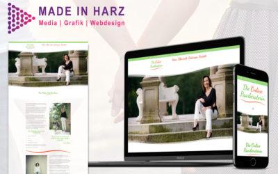 """Neues Webdesign & Logodesign für """"Die Online Paarberaterin"""""""
